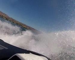 Bikini Beach Seadoo GTX 215 HP GoPro Lake Chelan Part 2 Wake view