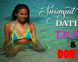 Chrissy Teigen's Dating Advice, Swim Daily Exclusive