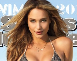 2015 SI Swimsuit cover model Hannah Davis surprised with reveal