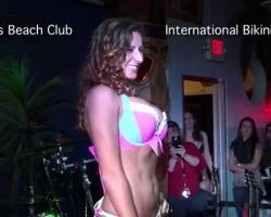Bikini Contest at Vera's Beach Club Feb 2015