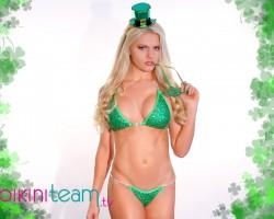 Marissa Everhart Sexy Saint Paddy 2015 BikiniTeam.com