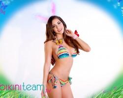 Shelby Chesnes Sexy Easter Bunny 2015 BikiniTeam.com