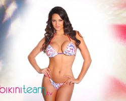 Pashence Marie Sexy Patriotic Babe 2015
