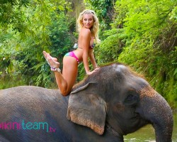 Khloë Terae Paradise Challenge Bali 2015