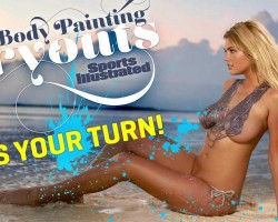 Sports Illustrated Swimsuit Body Painting Tryouts