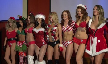 International Bikini Team Sexy Santa's Helpers
