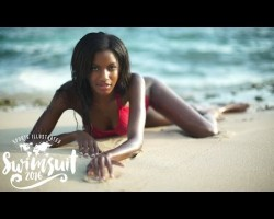 Ebonee Davis Uncovered Swimsuit 2016