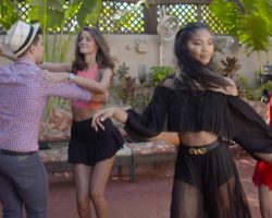 Salsa Lessons with Swimsuit Models