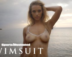 Hannah Ferguson's Body Paint Leaves Nothing To The Imagination | Sports Illustrated Swimsuit