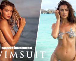 Gigi Hadid Glows, Irina Shayk Swims With The Sharks In Tahiti | On Set | Sports Illustrated Swimsuit