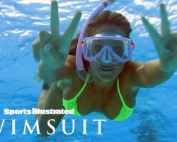 Hannah Jeter Dives Deep, Swims With Sharks In Underwater Tahiti Shoot | Sports Illustrated Swimsuit