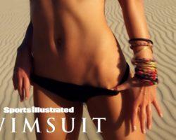 Anne V Heats Up The Brazilian Desert   Intimates   Sports Illustrated Swimsuit