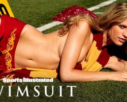 Julie Henderson Shows You Why She's A 'Naughty Cheerleader' | Sports Illustrated Swimsuit