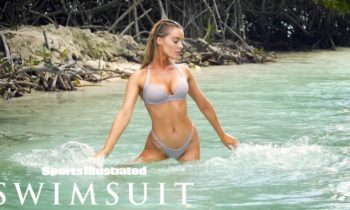Georgia Gibbs Plays in the Water in Aruba | CANDIDS | Sports Illustrated Swimsuit