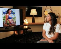 Watch Alex Morgan's SI Swimsuit cover reveal